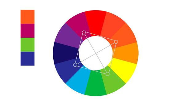 Cuadrado de colores